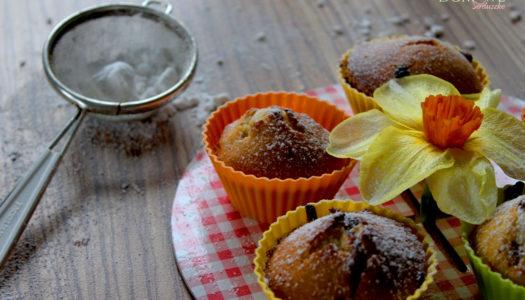 Muffiny z czekoladą i z żurawiną