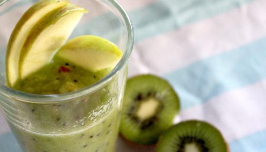 Zielone smoothie z melonem