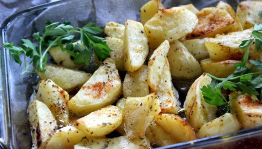 Ziemniaki z piekarnika po prowansalsku